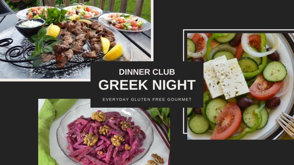 Dinner Club - A menu for Greek Night