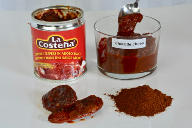Chipotle Chiles in Adobo Sauce vs Chipotle Powder