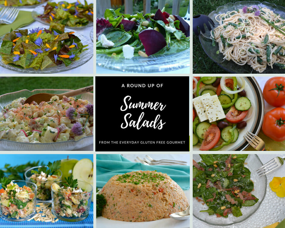 A Round Up of Summer Salads with ideas for the whole season.