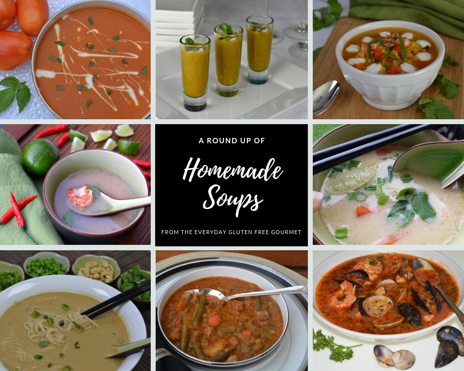 Round Up of Homemade Soups
