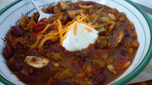 Gluten Free Homemade Chili