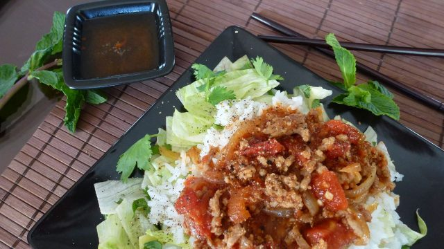Gluten Free Vietnamese Pork in Tomato Sauce
