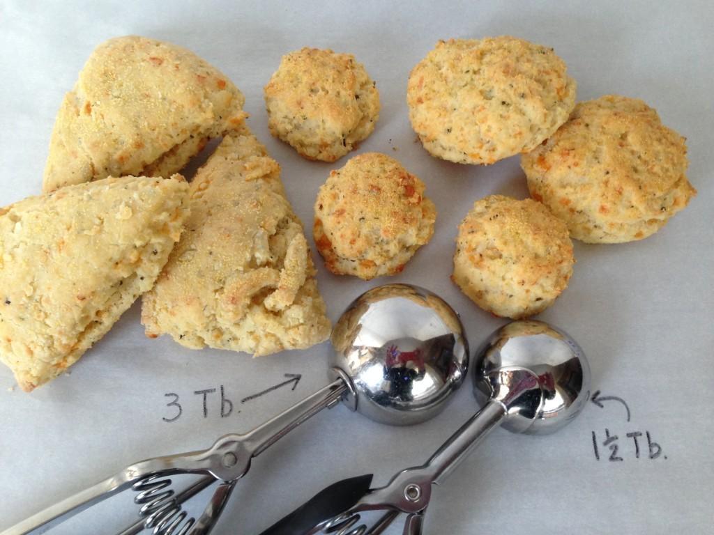 Pesto Cheddar Biscuits