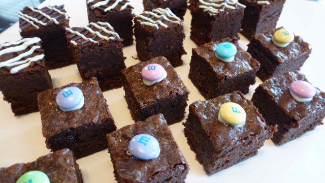 Gluten Free Chocolate Truffle Brownies