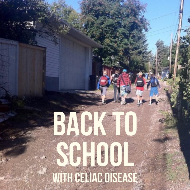 Back To School With Celiac Disease