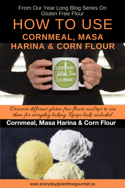 How To Use Corn Flour, Cornmeal and Masa Harina - Everyday Gluten Free  Gourmet