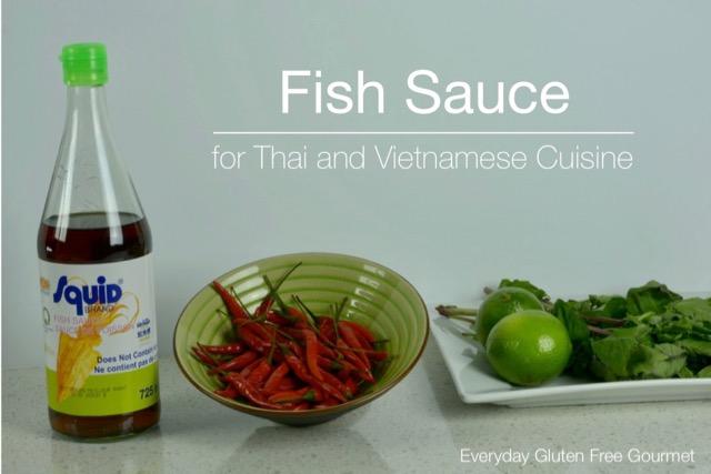 Gluten Free Fish Sauce