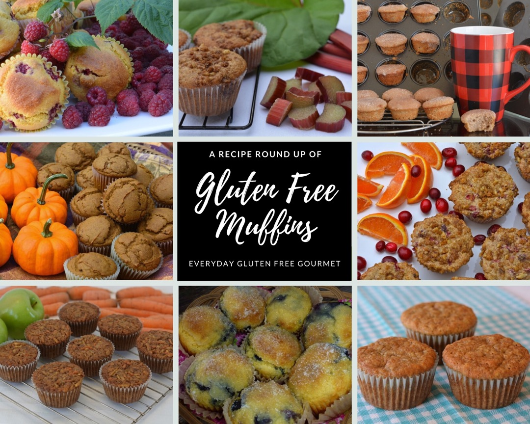 Recipe Round Up of Gluten Free Muffins