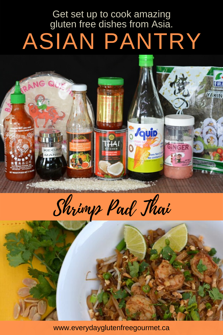 Stock up on the basics to make Shrimp Pad Thai an everyday dish in your kitchen..