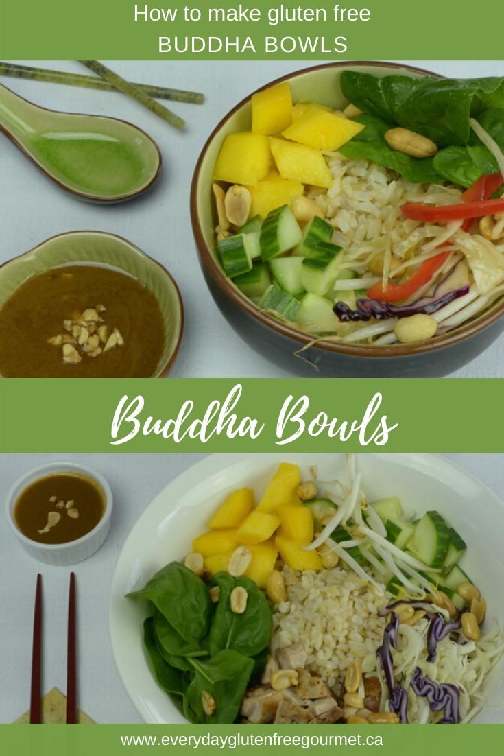 How to make gluten free Buddha Bowls.