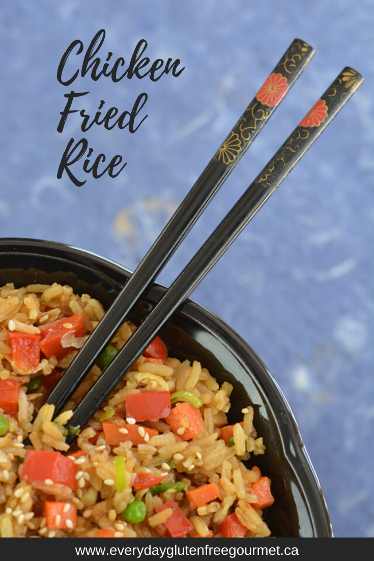 Gluten Free Chicken Fried Rice, perfect anytime.