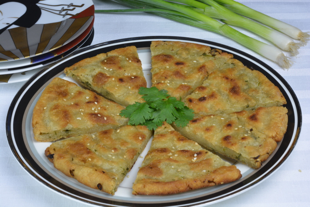 Chinese Onion Bread