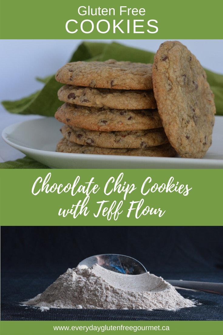 Chocolate Chip Cookies with Teff flour