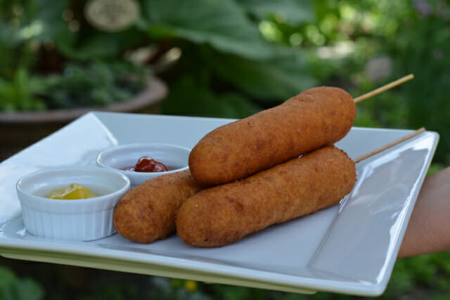 Amusement Park Corn Dogs