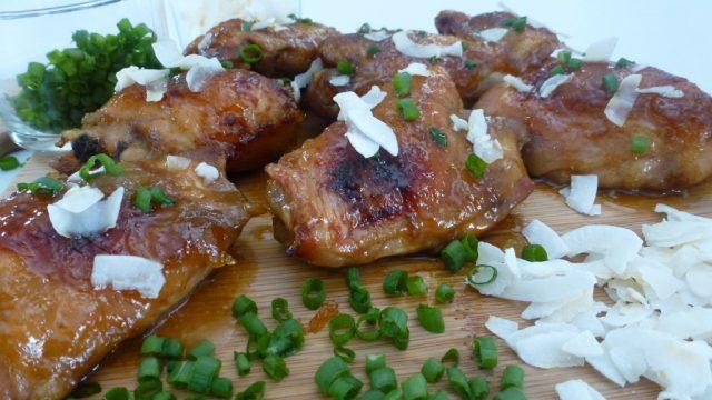 Gluten Free Mango Chutney Chicken