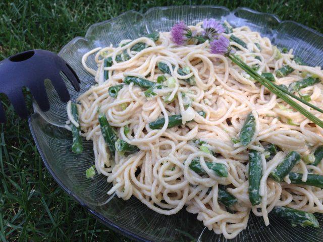 Gluten-Free-Spicy-Sesame-Noodle Salad