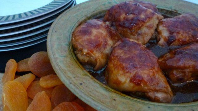 Gluten Free Sticky Apricot Chicken