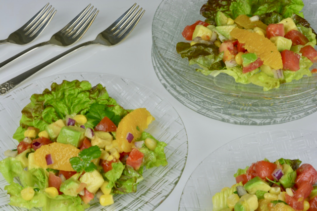 Mexican Orange Avocado Salad