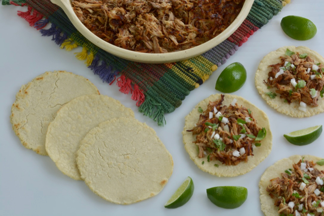 Serving up Mexican Pork Carnitas