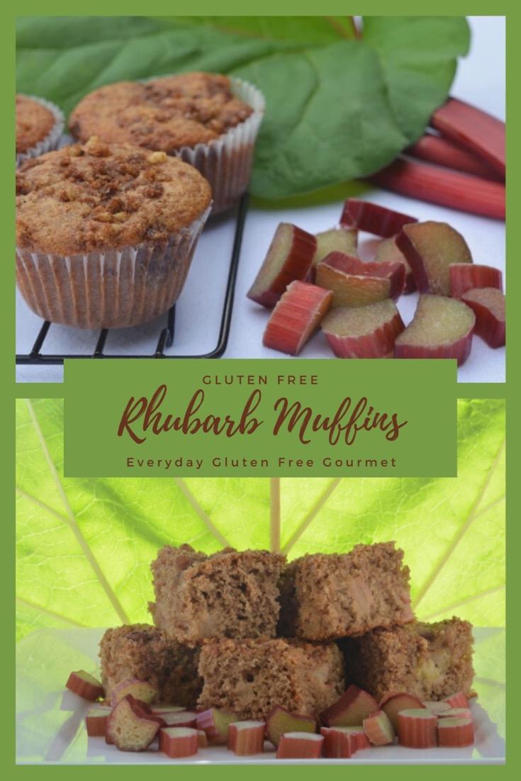 Rhubarb Streusel Muffins and Rhubarb Coffee Cake