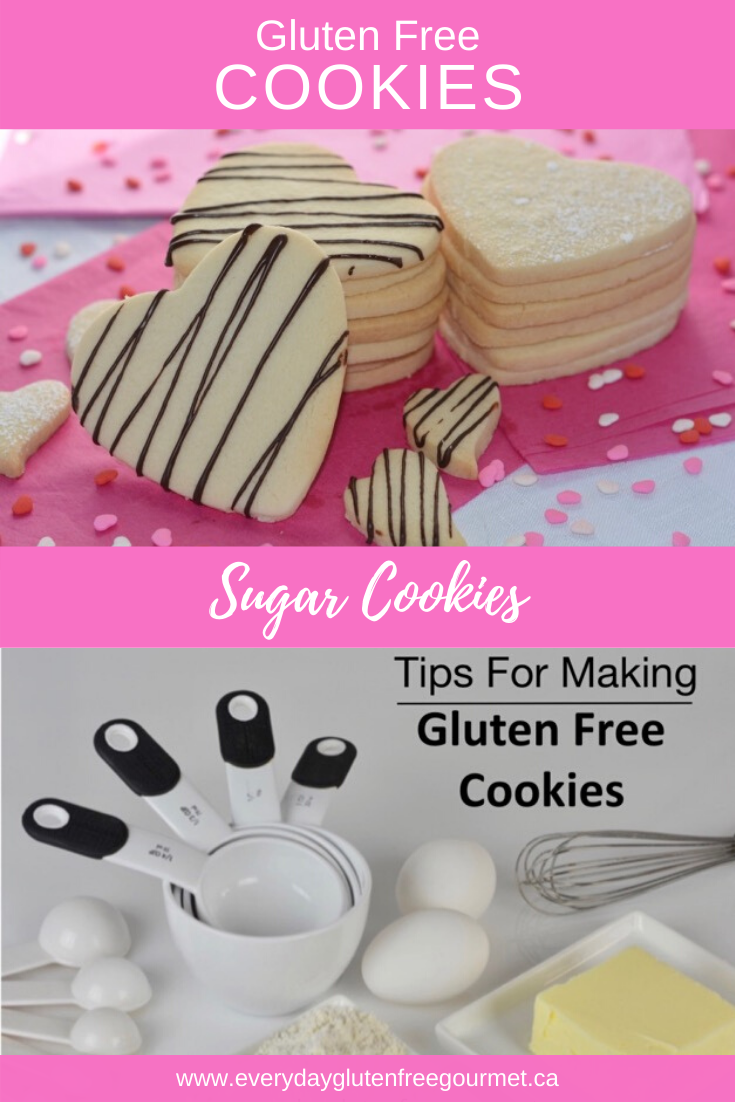 Gluten free sugar cookies are easy to make and I've shared my best tips for a successful cookie baking session the first time.