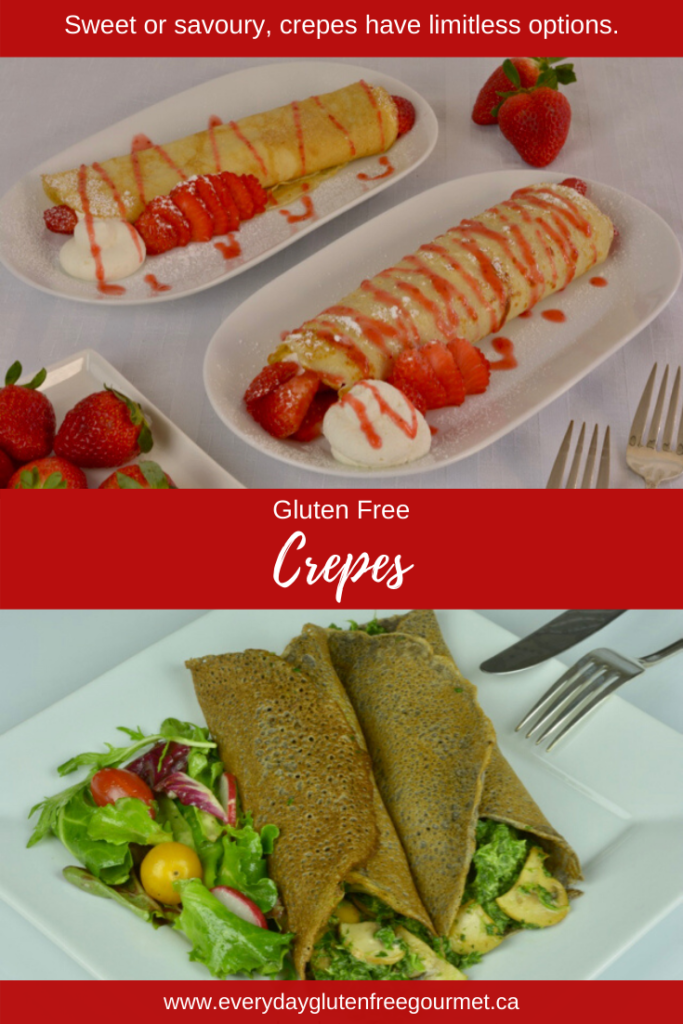 It doesn't take much practise to master Crepes and when you do you'll have lots of ways to serve them. Sweet or savoury any time.