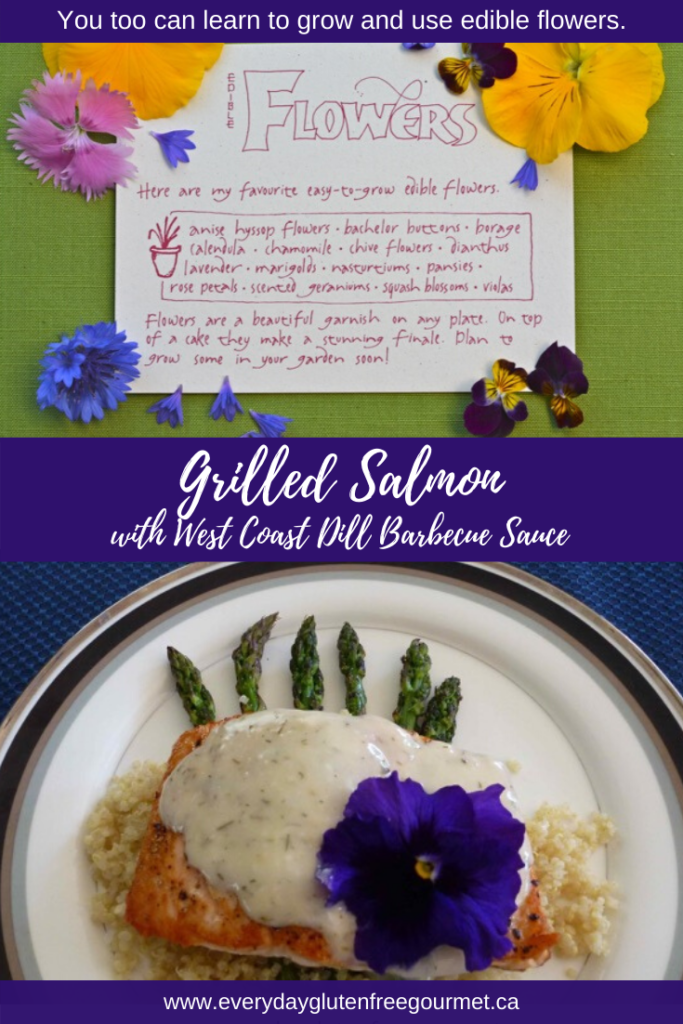 Grilled Salmon with West Coast Dill Sauce