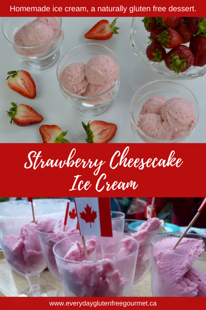 Strawberry Cheesecake Ice Cream, perfect for any occasion.