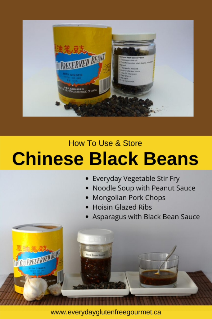 Fermented Chinese Black Beans are part of my gluten free pantry, learn how to use them.