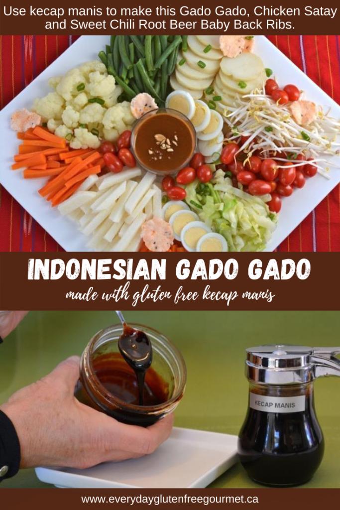 Gado Gado, the premiere Indonesian salad