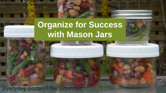 Organize For Success with Mason Jars