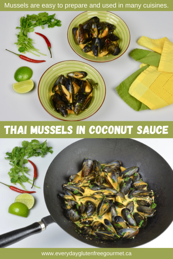 Thai Mussels in Coconut Sauce is surprisingly easy to make.