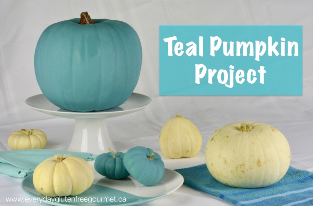teal pumpkin project is raising awareness about food allergies