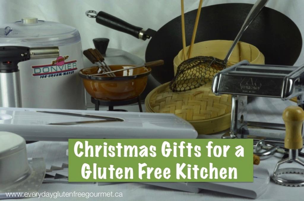 Gifts for Gluten Free Kitchen
