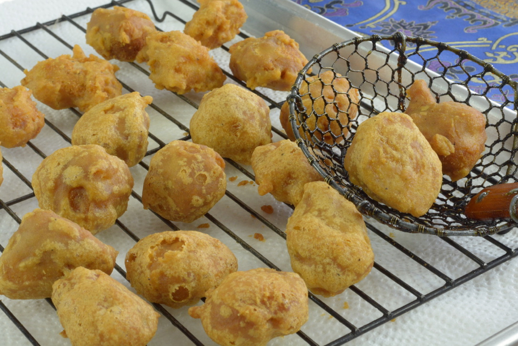 Just fried Chinese Chicken Balls
