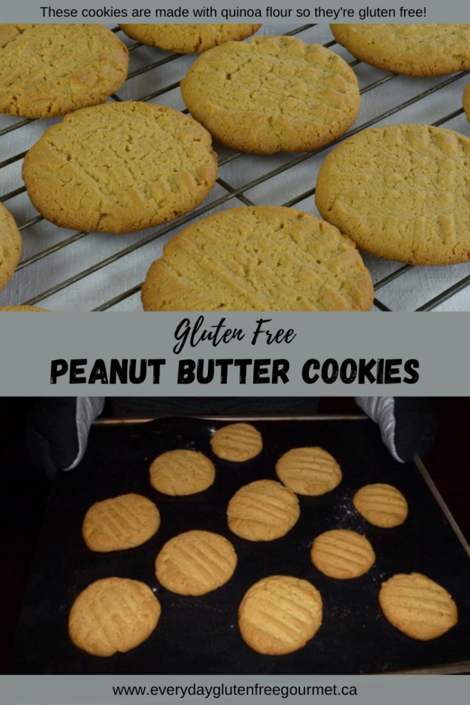 Peanut Butter Cookies right out of the oven.