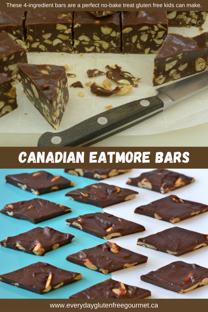 Chocolaty, chewy Eatmore Bars, cut thick or thin everyone loves them.